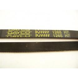 1265 H7 courroie DAYCO pour lave linge