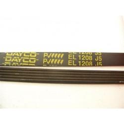 EL 1208 J5 courroie DAYCO pour lave linge