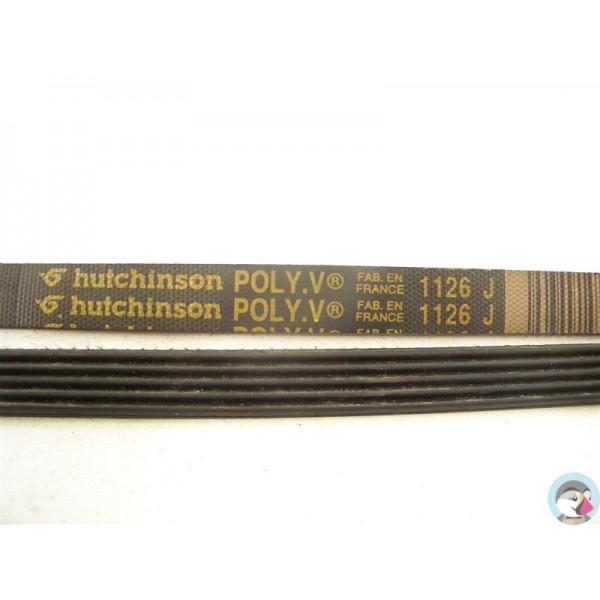 1126 j 5 dents courroie hutchinson occasion ou neuf pour lave linge. Black Bedroom Furniture Sets. Home Design Ideas