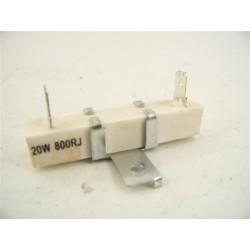 Résistance 20W 800RJ n°4 fixe de ciment pour four a micro-ondes