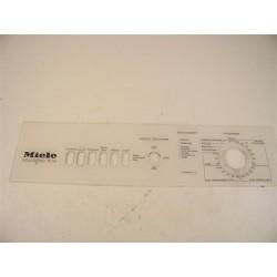 4034251 MIELE W118 n°78 bandeau pour lave linge