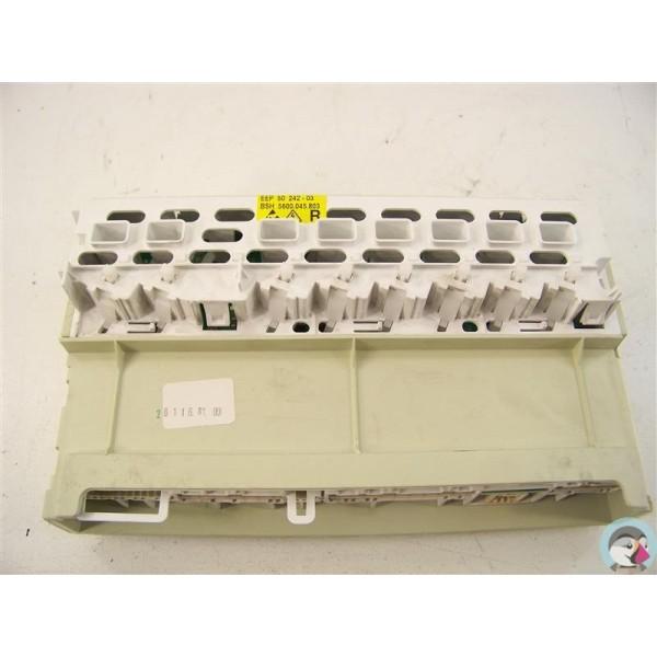488204 bosch siemens n 49 programmateur d 39 occasion pour lave vaisselle. Black Bedroom Furniture Sets. Home Design Ideas