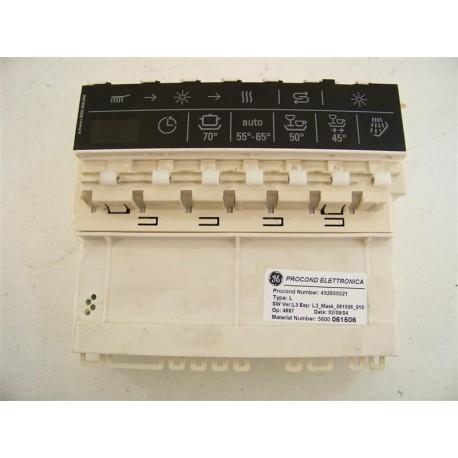 493784 SIEMENS SE55M571EU/17 n°52 programmateur pour lave vaisselle