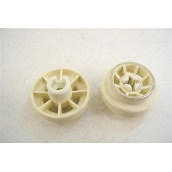 95X9798 BRANDT FAGOR n°24 roulette pour panier inférieur pour lave vaisselle