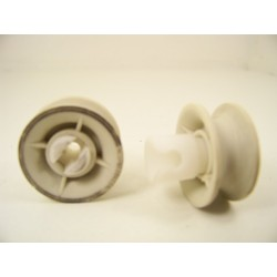 2372320 MIELE G571 N°2 Roulettes pour panier supérieur pour lave vaisselle