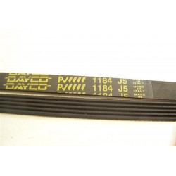 1184 J5 courroie DAYCO pour lave linge