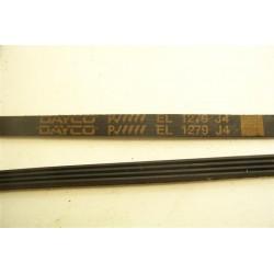 C00056443 EL 1279 J4 courroie DAYCO pour lave linge