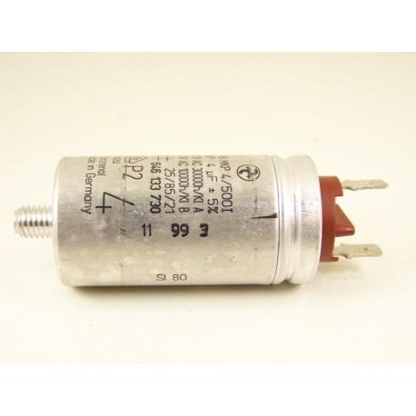 ARTHUR MARTIN ASI1650 n°2 Condensateur 4µF de démarrage pour lave vaisselle