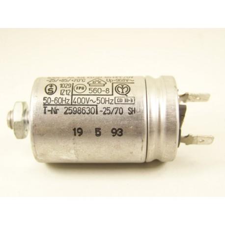 481912118102 WHIRLPOOL ADP542BL n°11 Condensateur 3µF de démarrage pour lave vaisselle
