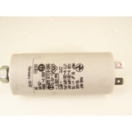 BRANDT THOMSON n°14 Condensateur 10µF de démarrage pour lave vaisselle