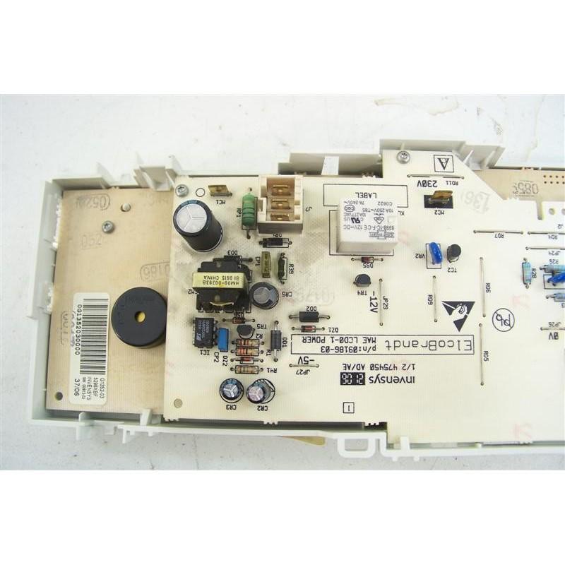 52x3465 brandt wtc1388f n 144 programmateur d 39 occasion - Programmateur lave linge brandt ...