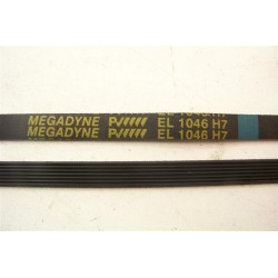EL 1046 H7 courroie MEGADYNE pour lave linge