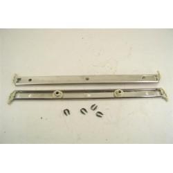 1236401 MIELE N°13 kit rail et Roulettes pour panier supérieur de lave vaisselle