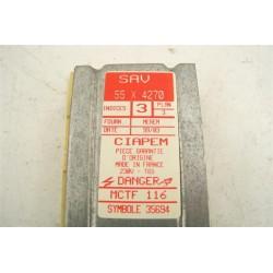 55X4270 VEDETTE BRANDT n°87 module de puissance lave linge