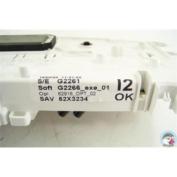 52x3234 brandt wtc1384f 01 n 160 programmateur d 39 occasion - Programmateur lave linge brandt ...