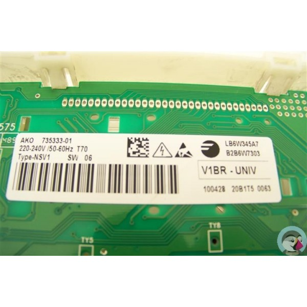 As0015400 brandt wfk1218f n 169 programmateur d 39 occasion for Acheter lave linge pas cher