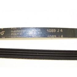 1089 J4 courroie HUTCHINSON pour lave linge