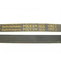 1092 J courroie HUTCHINSON pour lave linge