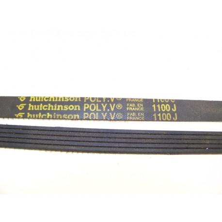 1100 j courroie hutchinson occasion ou neuf pour lave linge. Black Bedroom Furniture Sets. Home Design Ideas