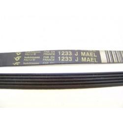 54X1029 1233 J MAEL courroie HUTCHINSON pour lave linge