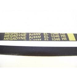 EL 1046 H8 courroie MEGADINE pour lave linge