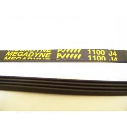 1100 J4 courroie MEGADINE pour lave linge
