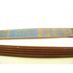 EL 1210 J5 courroie MEGADINE pour lave linge