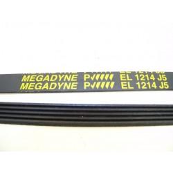 EL 1214 J5 courroie MEGADINE pour lave linge
