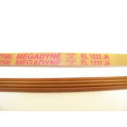 EL 1222 J4 courroie MEGADINE pour lave linge