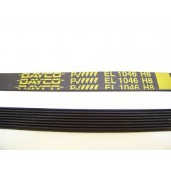 C00074218 EL 1046 H8 courroie DAYCO pour lave linge