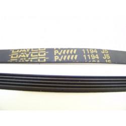 EL 1194 J5 courroie DAYCO pour lave linge