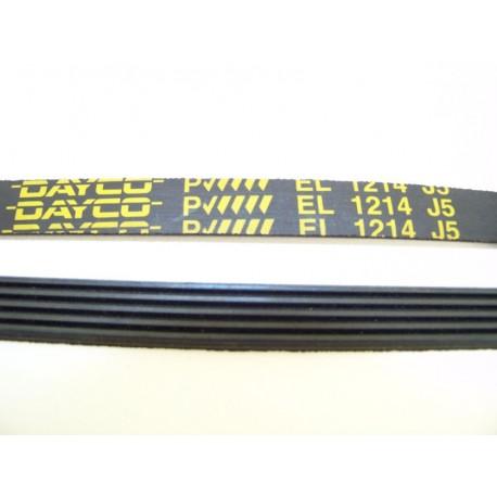 EL 1214 J5 courroie DAYCO pour lave linge