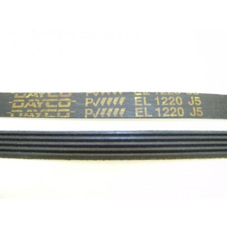 EL 1220 J5 courroie DAYCO pour lave linge