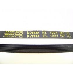 EL 1221 H7 courroie DAYCO pour lave linge