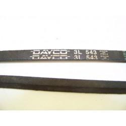 3L 543 courroie DAYCO pour lave linge