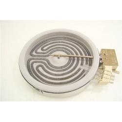 93780971 CANDY ROSIERES n°40 foyer radiant 1200W 16.5 cm pour plaque vitrocéramique