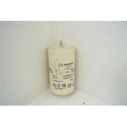 33914 INDESIT WIT60FR n°44 condensateur 16µF lave linge