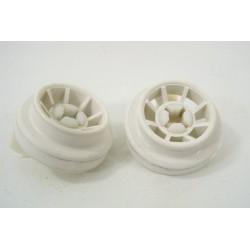 95X9797 BRANDT FAGOR LVD-34 n°39 roulette pour panier inférieur pour lave vaisselle
