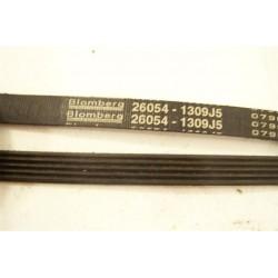 26054 courroie BLOMBERG 1309 J5 pour lave linge