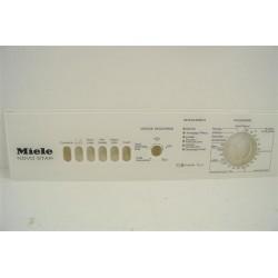 4729660 MIELE W110 n°119 façade de bandeau pour lave linge