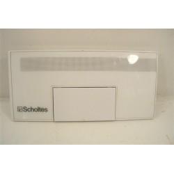 C00034728 SCHOLTES ARISTON MLI1200W N°20 Facade de boite à produit de lave linge