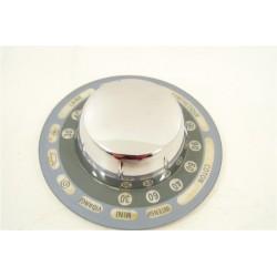 2834100013 BEKO WM5552TB N°24 Bouton de programmateur pour lave linge