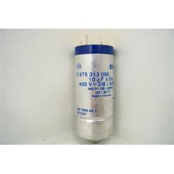 055114 SIEMENS LADY150 n°87 condensateur 10µF pour lave vaisselle