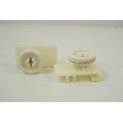 31X4418 BRANDT LV146B N°44 roulettes de panier supérieur pour lave vaisselle