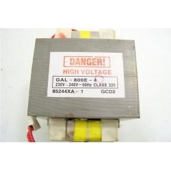 FAR P80D20TL n°10 transformateur GAL-800E-4 pour four micro-ondes