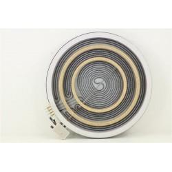 72X4490 SAUTER STV944B N°54 Foyer radiant D.300 Pour plaque vitrocéramique