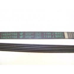 1199 J5 MAEL courroie HUTCHINSON pour lave linge