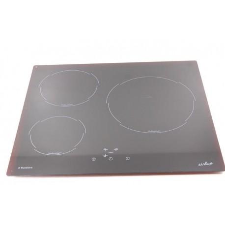 Airlux ti63bh n 1 dessus de verre pour plaque induction - Plateau pour plaque induction ...