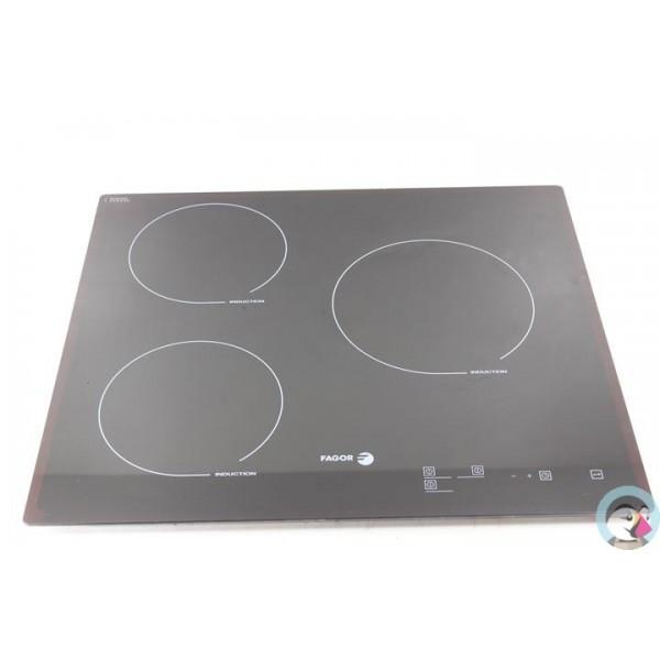 70x1543 fagor iff 82r n 3 dessus de verre pour plaque induction. Black Bedroom Furniture Sets. Home Design Ideas