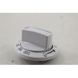250315142 BEKO CSE67101GW n°63 bouton minuterie pour plaque électrique